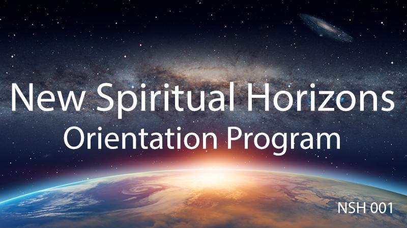 The Orientation Program - Step 1