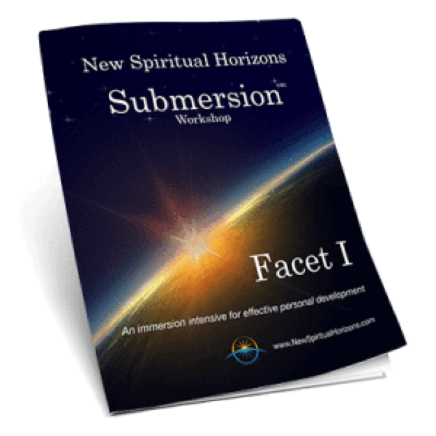 NEW SPIRITUAL HORIZONS SUBMERSION WORKSHOP FACET 1: My Life Purpose as a Spiritual Being